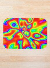 Abstract random colors #1 Bath Mat