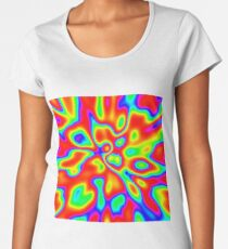 Abstract random colors #1 Premium Scoop T-Shirt