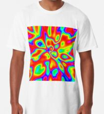 Abstract random colors #1 Long T-Shirt