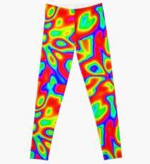 Abstract random colors #1 Leggings