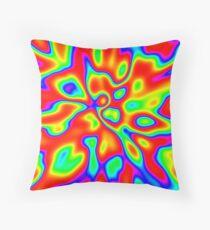 Abstract random colors #1 Floor Pillow