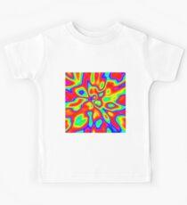 Abstract random colors #1 Kids T-Shirt