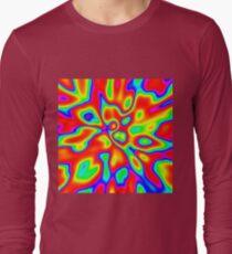 Abstract random colors #1 Long Sleeve T-Shirt