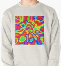 Abstract random colors #1 Pullover Sweatshirt