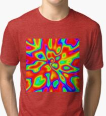Abstract random colors #1 Tri-blend T-Shirt
