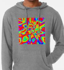 Abstract random colors #1 Lightweight Hoodie