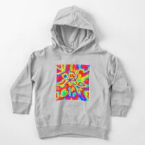 Abstract random colors #1 Toddler Pullover Hoodie