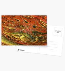 Fractal Fungus Postcards