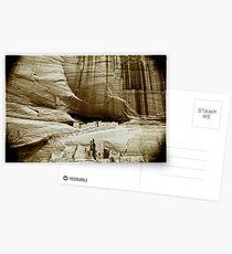 homage to a master ~ ansel adams ~ canyon de chelly Postcards