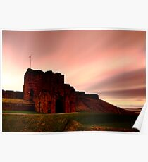Tynemouth Priory during Sunrise Poster