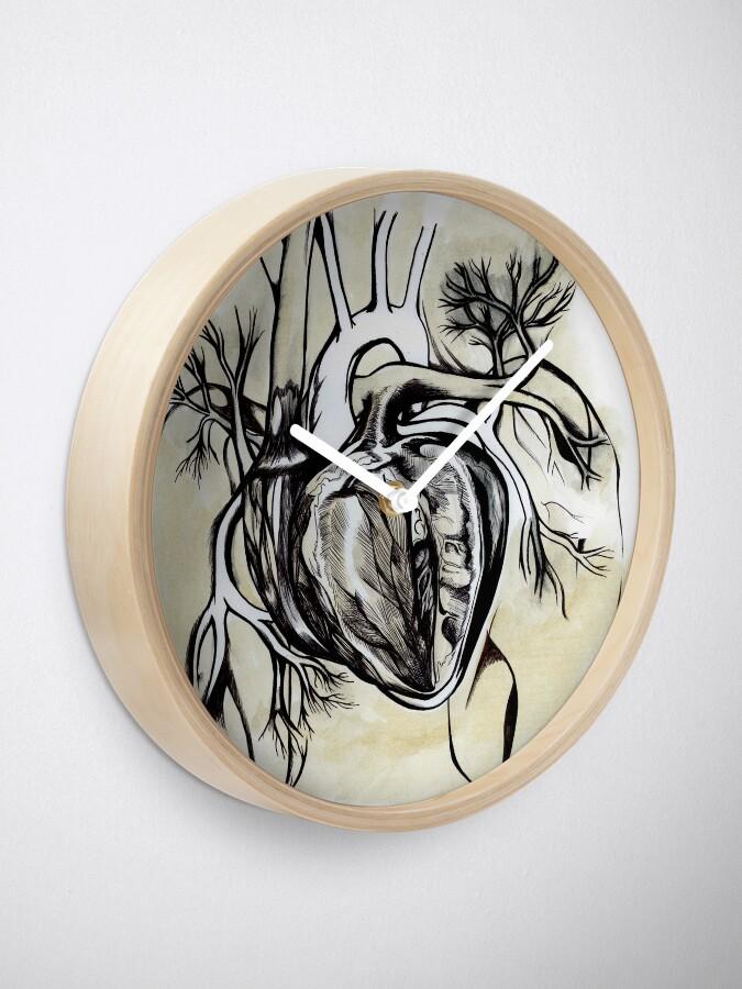 Alternative Ansicht von The Heart is an Organ of Fire Uhr
