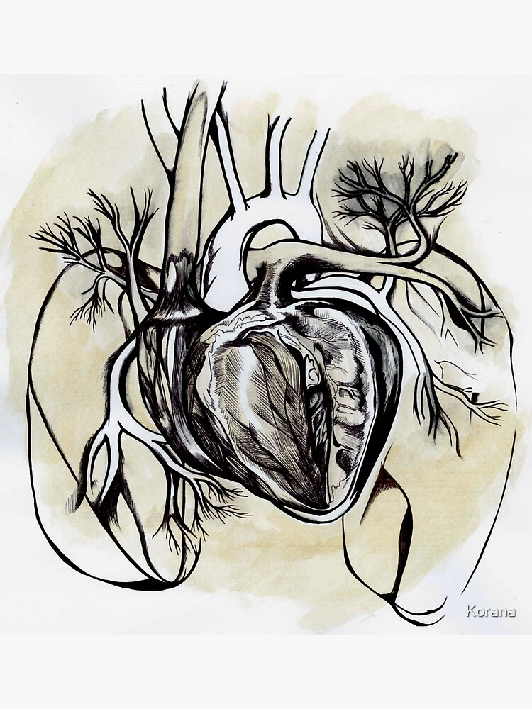 The Heart is an Organ of Fire von Korana
