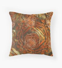 Fractal Painting Throw Pillow