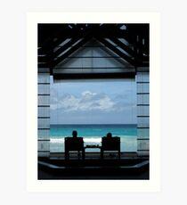 A Perfect View – Seychelles Art Print