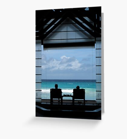 A Perfect View – Seychelles Greeting Card