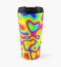 Abstract random colors #2 Travel Mug