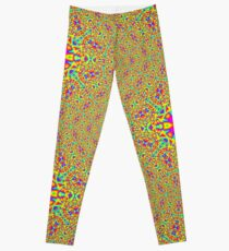 Abstract random colors #2 Leggings