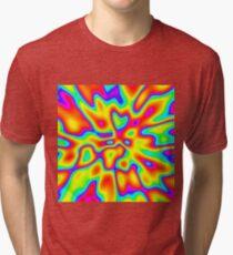 Abstract random colors #2 Tri-blend T-Shirt