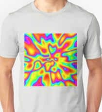 Abstract random colors #2 Slim Fit T-Shirt