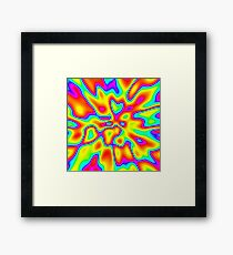 Abstract random colors #2 Framed Print