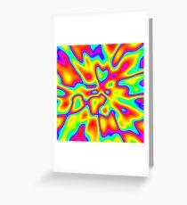 Abstract random colors #2 Greeting Card