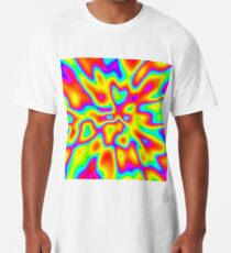 Abstract random colors #2 Long T-Shirt