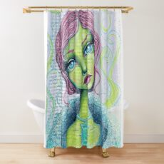 Wicked Shower Curtain