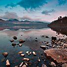 Stillness at Derwentwater by Shaun Whiteman