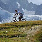 mountain biker by neil harrison
