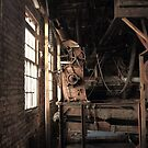 Old Textile Mill Machinery by DHParsons