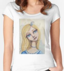 Alice Fitted Scoop T-Shirt