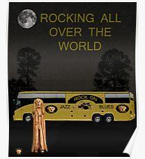 Scream Rock N Roll Tour Poster