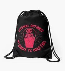 Eternal Optimist Drawstring Bag
