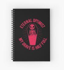 Eternal Optimist Spiral Notebook