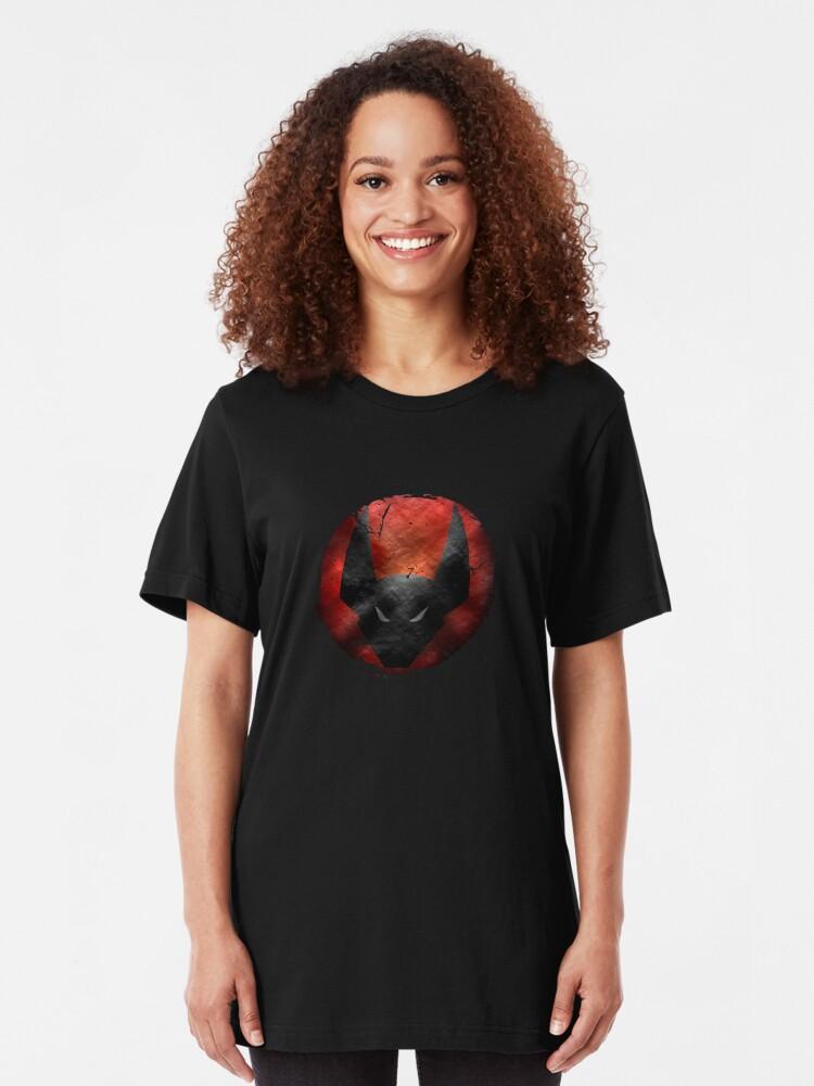 Alternative Ansicht von The old emblem Slim Fit T-Shirt
