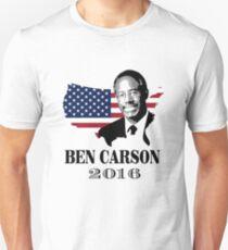 Camiseta ajustada Ben Carson para presidente 2016