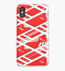 Liverpool Historical Kits Isometric Collage (Home) iPhone Case