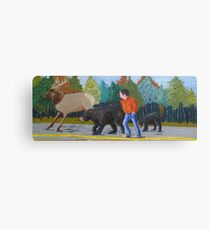 Canadian Highway Canvas Print