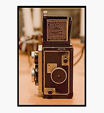 Zeiss Ikon Ikoflex Photographic Print
