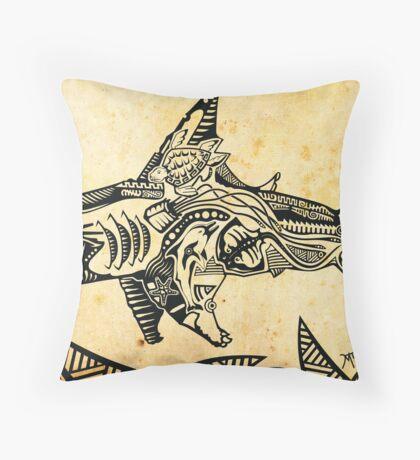 sapiencia marinha Throw Pillow