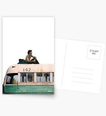 """""""Happiness is only real when shared"""" Postcards"""