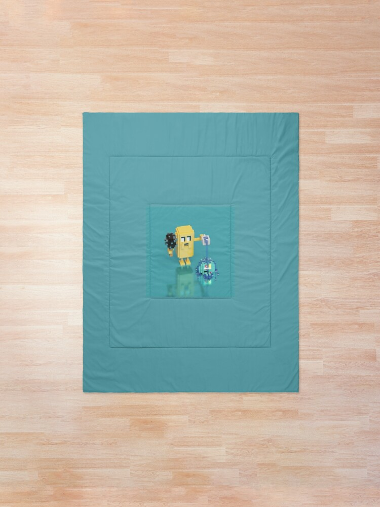 Alternate view of Jake The Dog / Adventure Time. Comforter