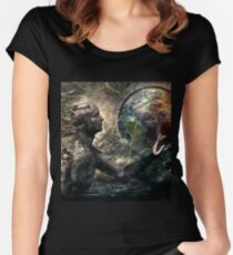 Born of Osiris, Soul Sphere 2015 Women's Fitted Scoop T-Shirt