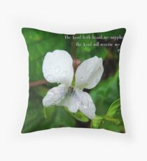 Receive my prayer.... Throw Pillow