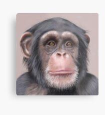 A. Chimp Metal Print