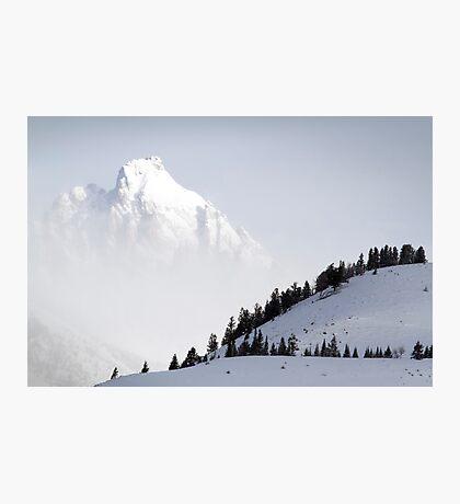 The Grand Teton - Floating Over Hansen Peak Photographic Print