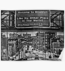 Welcome to Brooklyn Poster