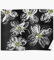 Dogwood Flowers Poster