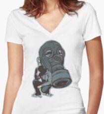 Gespenster Women's Fitted V-Neck T-Shirt