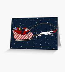 Santa Paws & Roo-dy Greeting Card